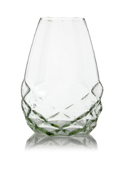 fairtrade vaas diamant glas