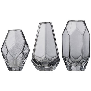 Bloomingville Vaas Grey Glass