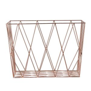 Bloomingville storage basket copper