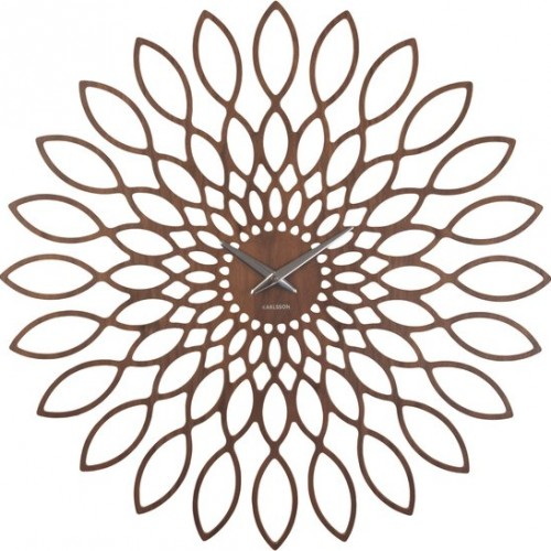 Karlsson klok sunflower donker bruin