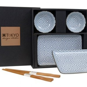 Tokyo Design Studio sushi set honey comb
