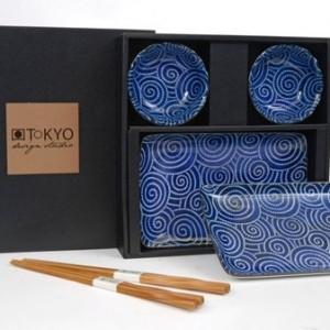 Tokyo Design Studio sushi set rond