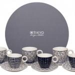Toky Design Studio Blue de Nimes espresso set