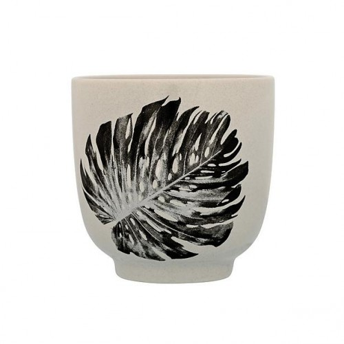 Bloomingville cup palm print