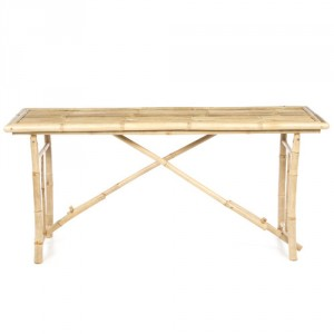 bloomingville console tafel bamboo