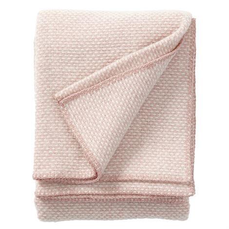 Klippan Plaid Domino pink