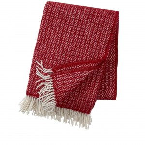 Klippan plaid Rumba red