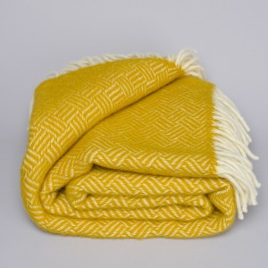 Klippan plaid Samba yellow