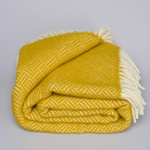 Klippan plaid Samba yellow