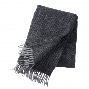 Klippan plaid fogg dark grey